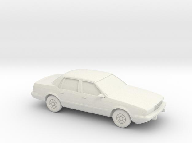 1/87 1991-93 Buick Century in White Natural Versatile Plastic