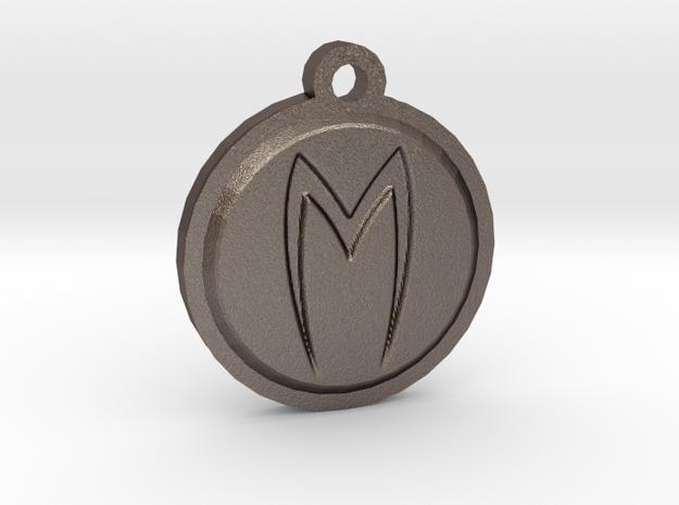 Mach 5 keychain in Stainless Steel