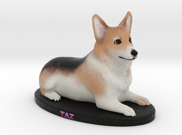 Custom Dog Figurine - Taz