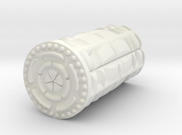 Lotus in White Natural Versatile Plastic