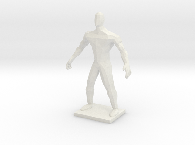 POLYMAN in White Natural Versatile Plastic