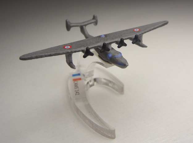 Potez-CAMS 141 1/900 3d printed Comes unpainted without stand.