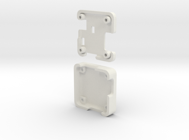 Naze32 Standard Case in White Natural Versatile Plastic