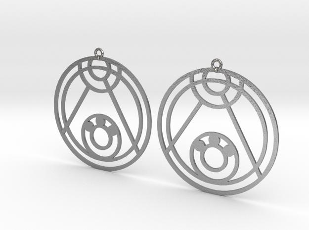 Lexi - Earrings - Series 1 in Natural Silver