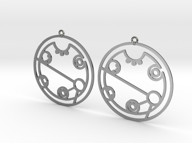 Kimberly - Earrings - Series 1 in Premium Silver