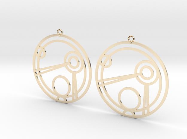 Jamie - Earrings - Series 1 in 14K Gold