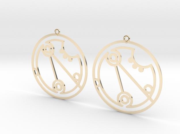 Georgia - Earrings - Series 1 in 14K Gold