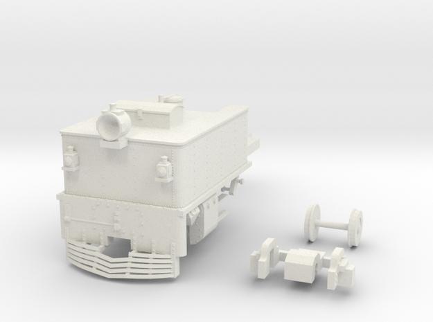 G42 Front Unit(O:1/48 Scale) in White Natural Versatile Plastic