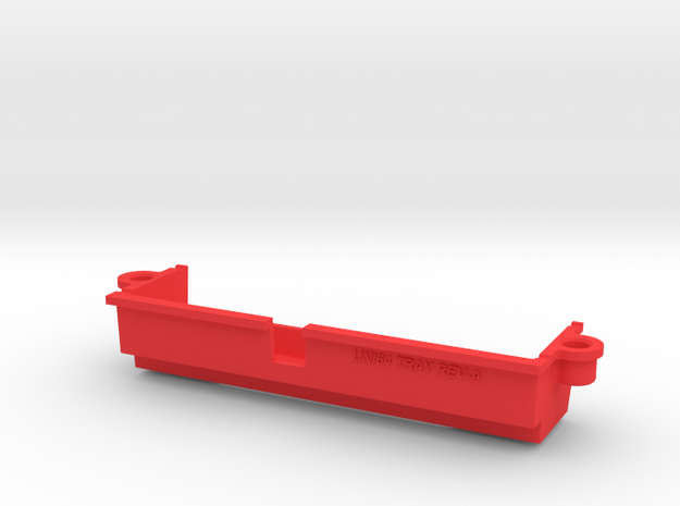 Uni64 Tray For N64 in Red Processed Versatile Plastic