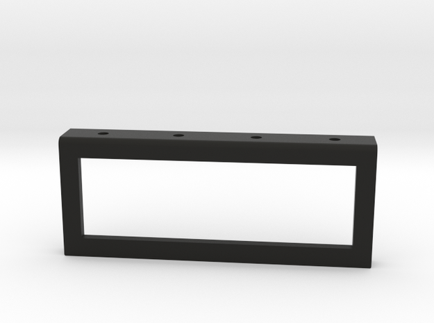 Six Position V-Series Switch Holder Version in Black Strong & Flexible