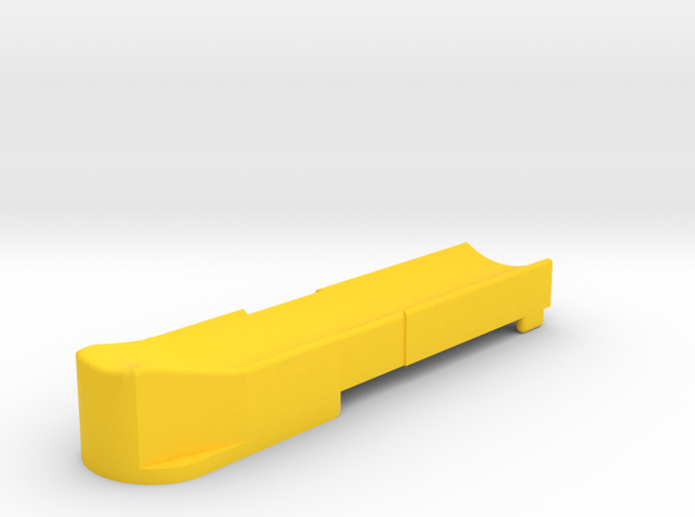 T3 Single Feed Follower (S) in Yellow Processed Versatile Plastic
