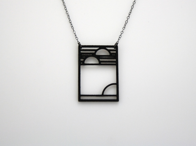Art Deco Pendant - Yesterday, Today, & Tomorrow