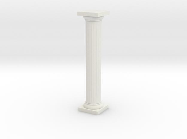 Pillar Unbroken Original Lrg in White Natural Versatile Plastic