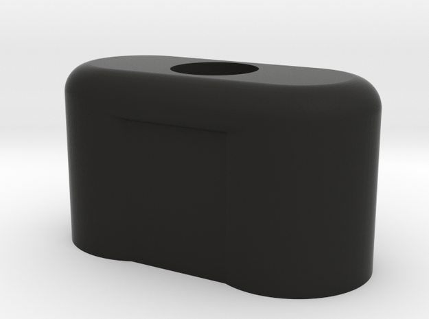 Enigmaplug-top in Black Natural Versatile Plastic