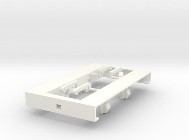 GN 15 Erzlore Fahrwerksrahmen für Eigenbauten in White Processed Versatile Plastic