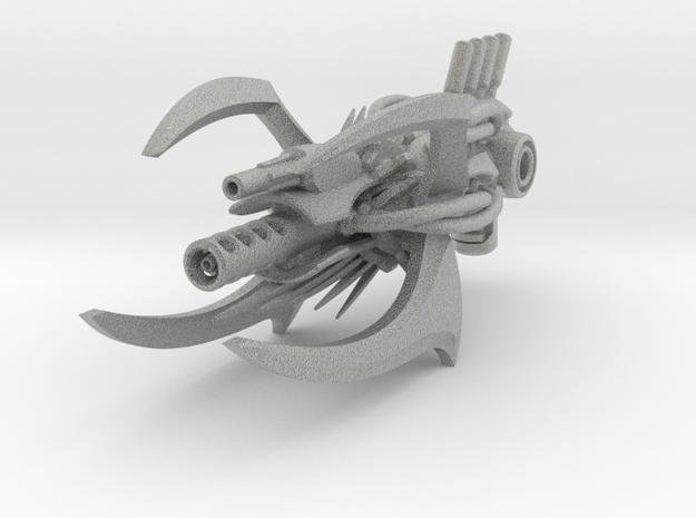 "Evil soldier sidearm ""Scolex Spiker""  3d printed"