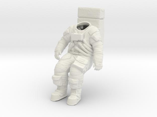 Apollo Astronaut / Sitting Position / 1:16 in White Strong & Flexible