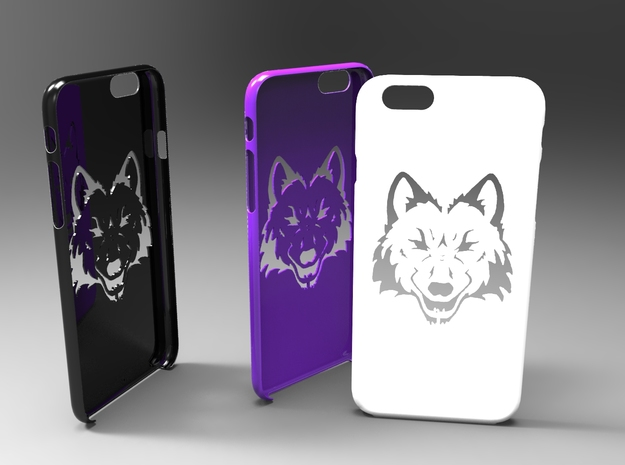 Iphone 6 wolf case