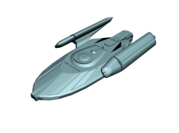 USS Javolind in White Strong & Flexible Polished