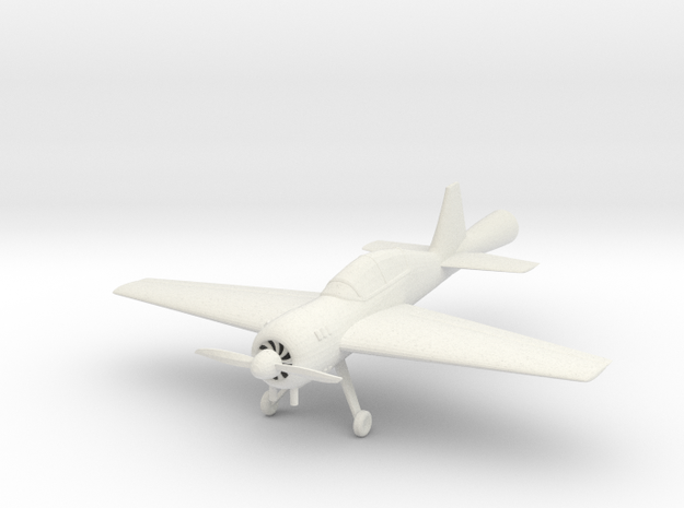 Yak 54 in White Natural Versatile Plastic