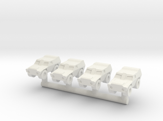 1/285 Gladiador VBL LAV (x4) in White Natural Versatile Plastic