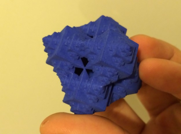 Fractal Octacube 3d printed