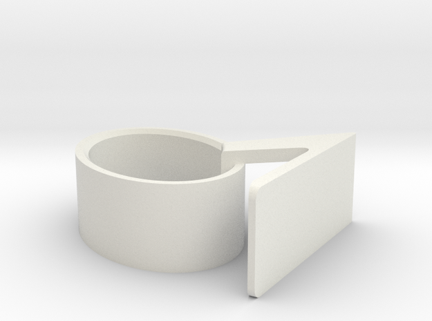 Wrist-watch Stand in White Strong & Flexible