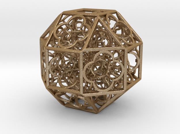 Hyper Geometry BB2 75mm Metal in Matte Gold Steel