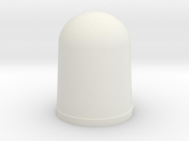 Apollo A7L Glove Tip -INDEX-MID-RING in White Natural Versatile Plastic