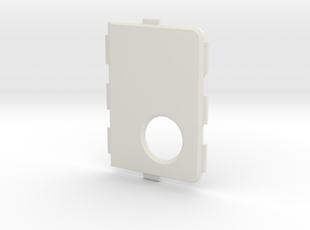 MarkV Cover - Standard in White Natural Versatile Plastic