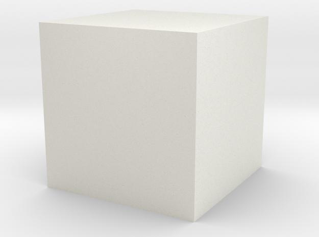 Plain Uploads Millimeters in White Natural Versatile Plastic