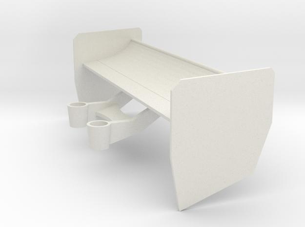 Mazda mini-z 787B Spoiler in White Natural Versatile Plastic