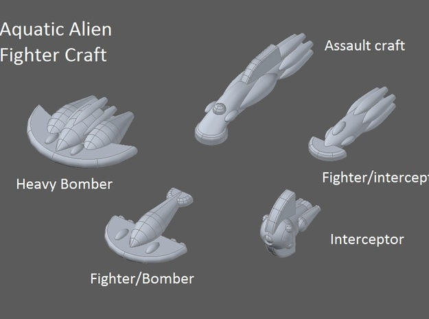 10 Aquatic interceptors 3d printed faction preview