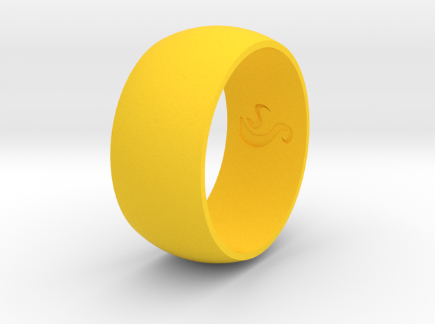 Ring Of Life in Yellow Strong & Flexible Polished