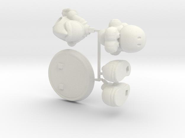 Yoshi [Kit] in White Natural Versatile Plastic