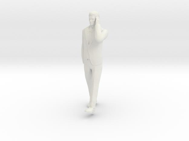 Man Walking 6cm in White Strong & Flexible