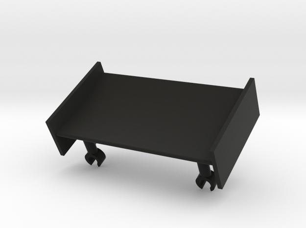 Front Wing in Black Natural Versatile Plastic