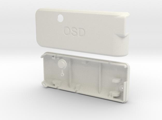 APM MinimOSD MAVLink-OSD Case in White Strong & Flexible