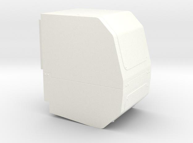 APU - Power Unit in White Processed Versatile Plastic