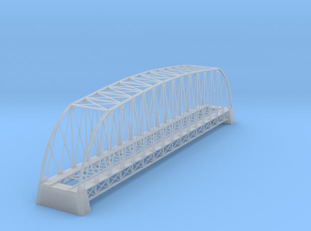 162 Ft Steel Bridge Z Scale in Smooth Fine Detail Plastic