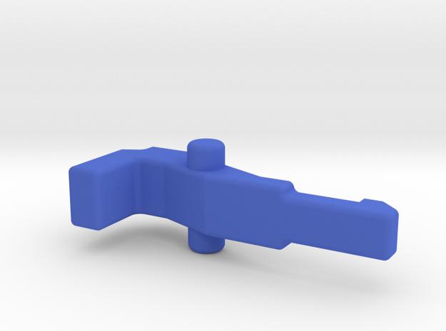 VENOM Thunderball cannon trigger. (4 of 8) in Blue Processed Versatile Plastic