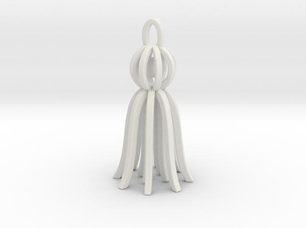 Martenitsa in White Natural Versatile Plastic