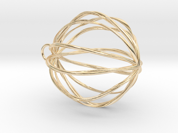 Claire in 14K Yellow Gold