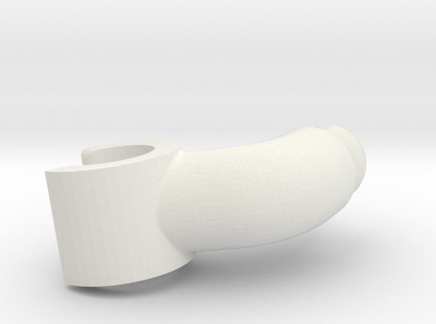 Assem1 - V2Hand-1 in White Natural Versatile Plastic