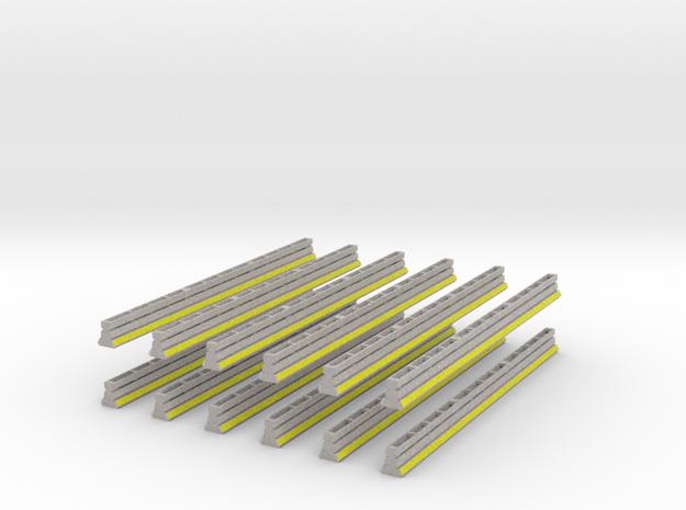 [12st] Safe Guard barrier 1:50 in Full Color Sandstone