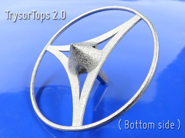 TrysorTops 2.0 in Polished Nickel Steel