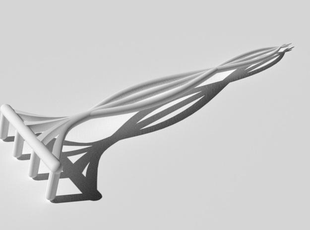 Zen Garden Rake (6in) 3d printed