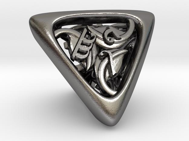 Tengwar Elvish D4 3d printed