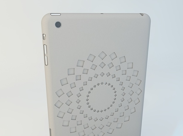 iPad mini FLWR Case 3d printed