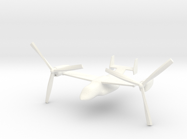1/285 (6mm) MV-22 Osprey 3d printed